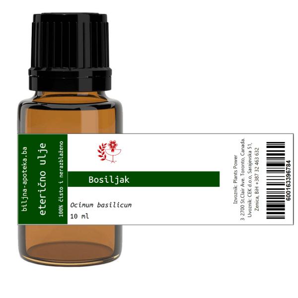 Eterično ulje bosiljak