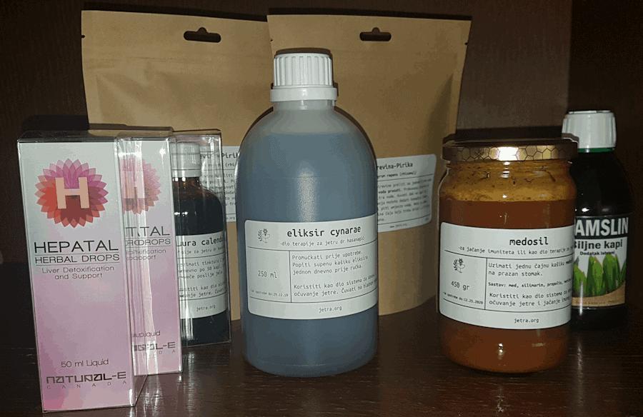 Terapija za jetru
