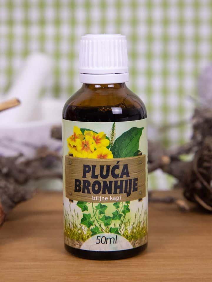 Eliksir kapi za pluća bronhije