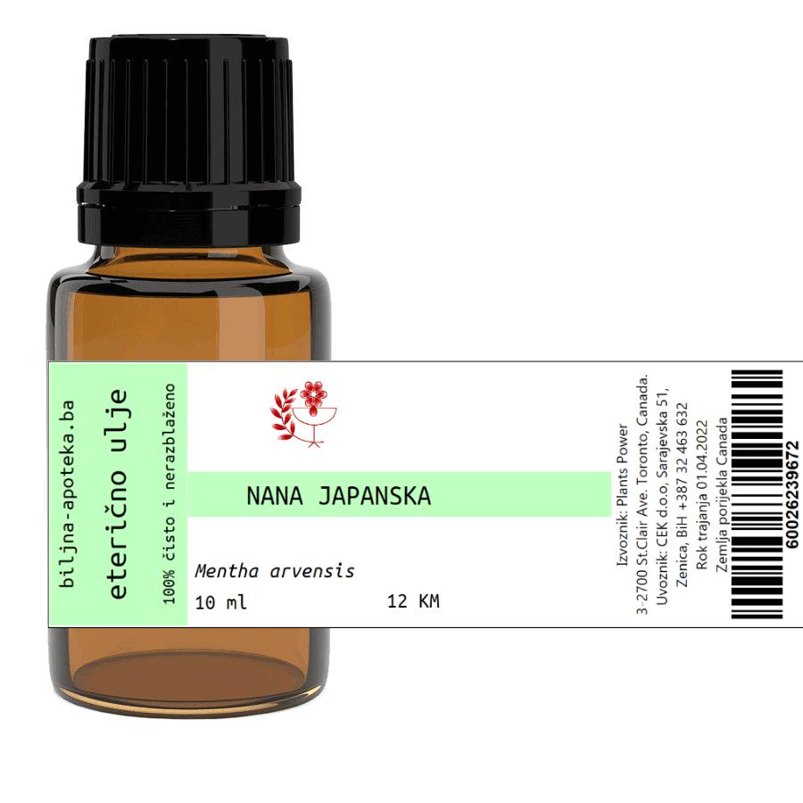 Eterično ulje nana japanska