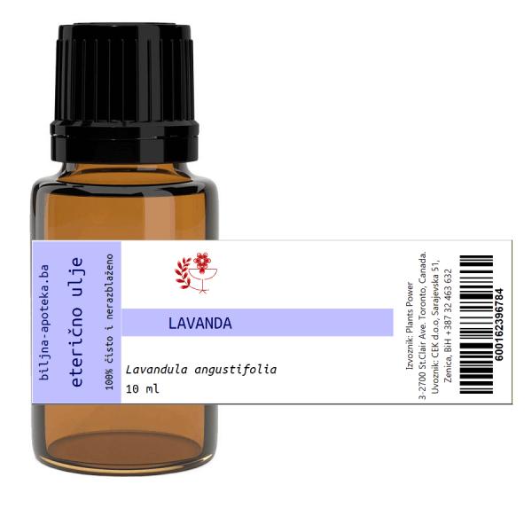Eterično ulje lavanda