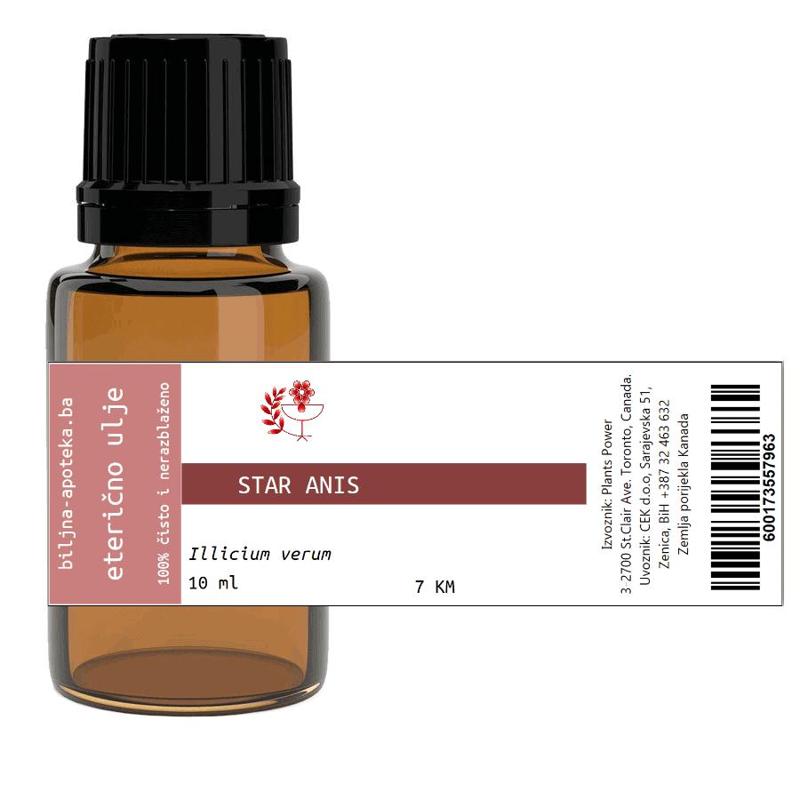 Eterično ulje star anis