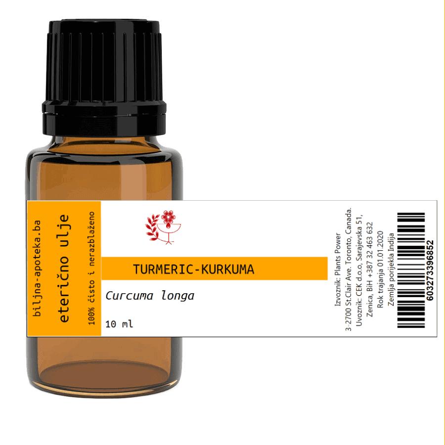 Eterično ulje kurkume