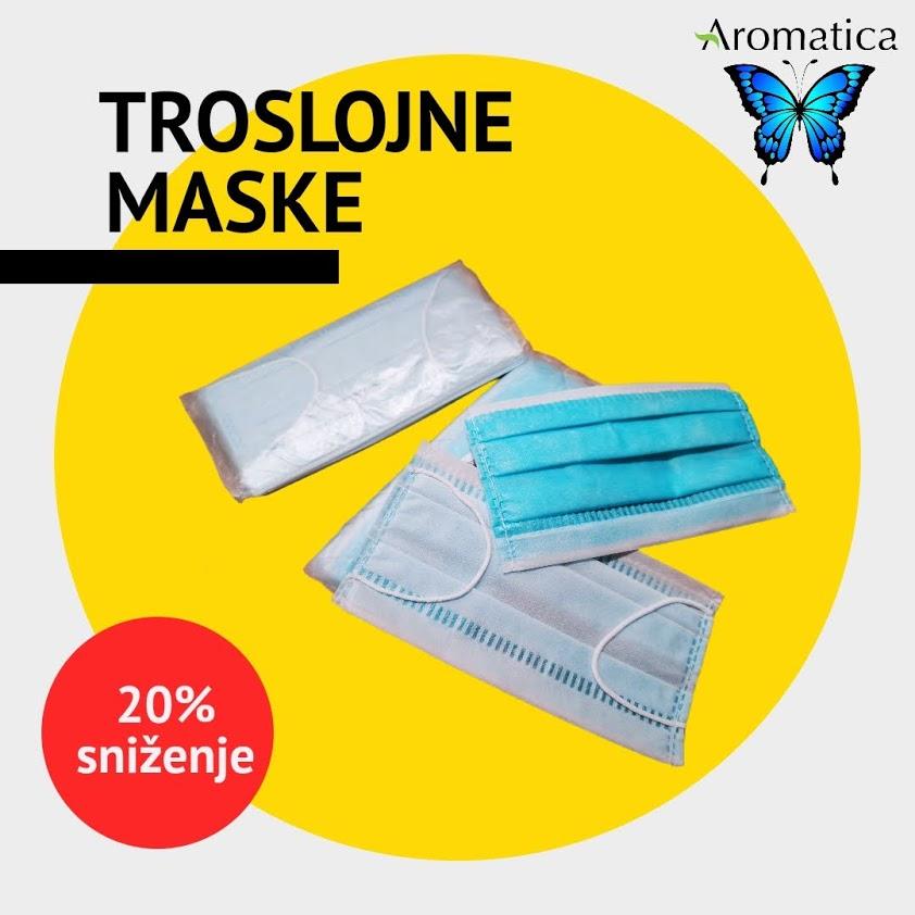 Troslojne maske za lice Sarajevo