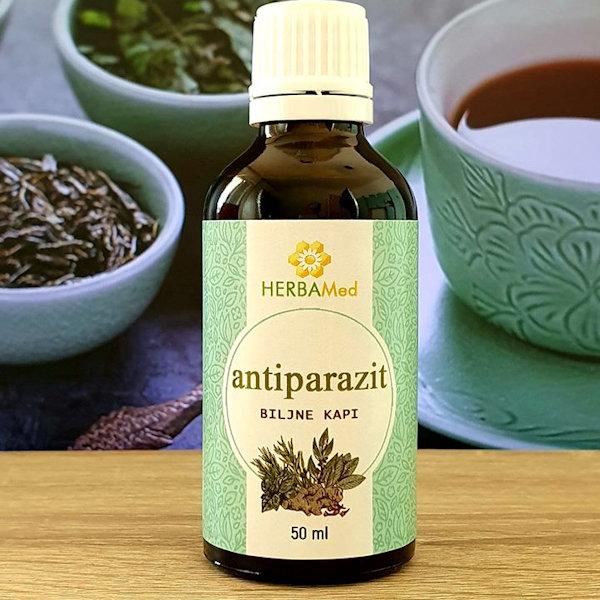 Herbamed Antiparazit kapi 50ml