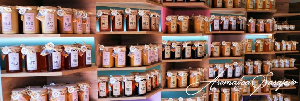 izbor meda u aromatici