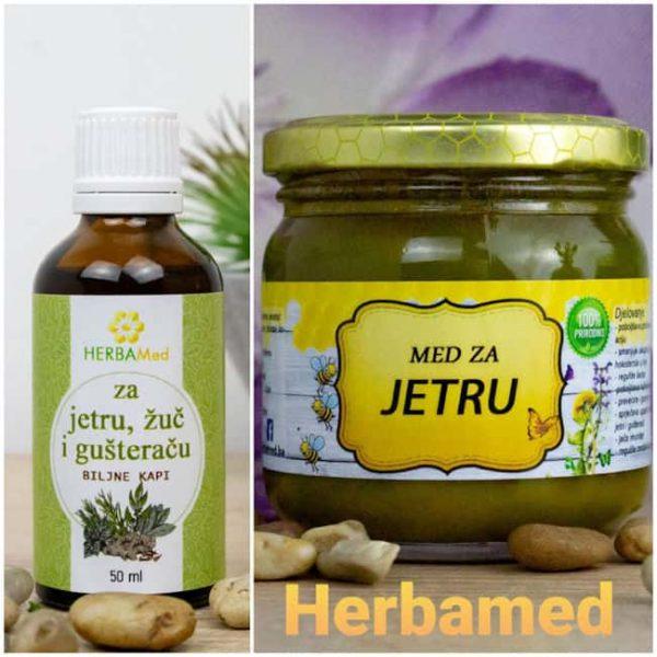 Herbamed za jetru, žuč i gušteraču