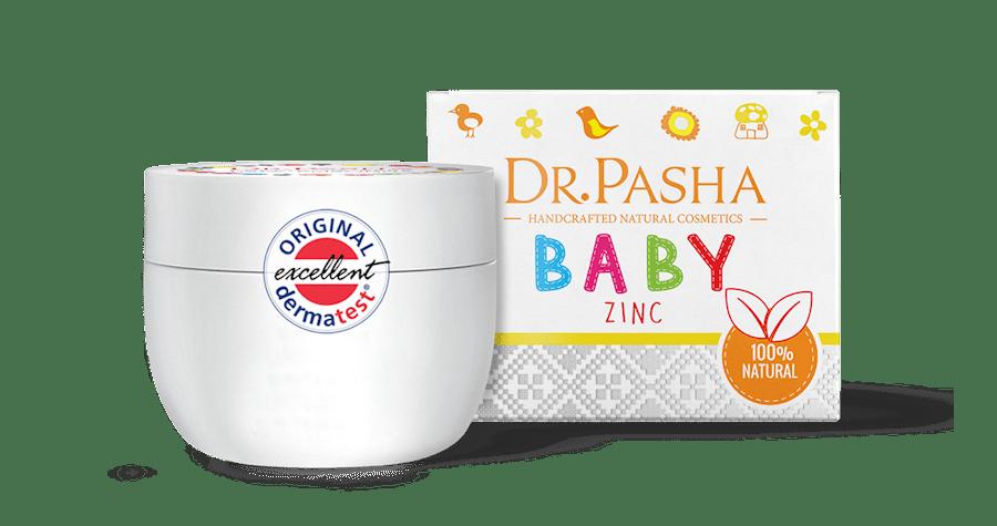 Dr Pasha krema za bebe sa cinkom