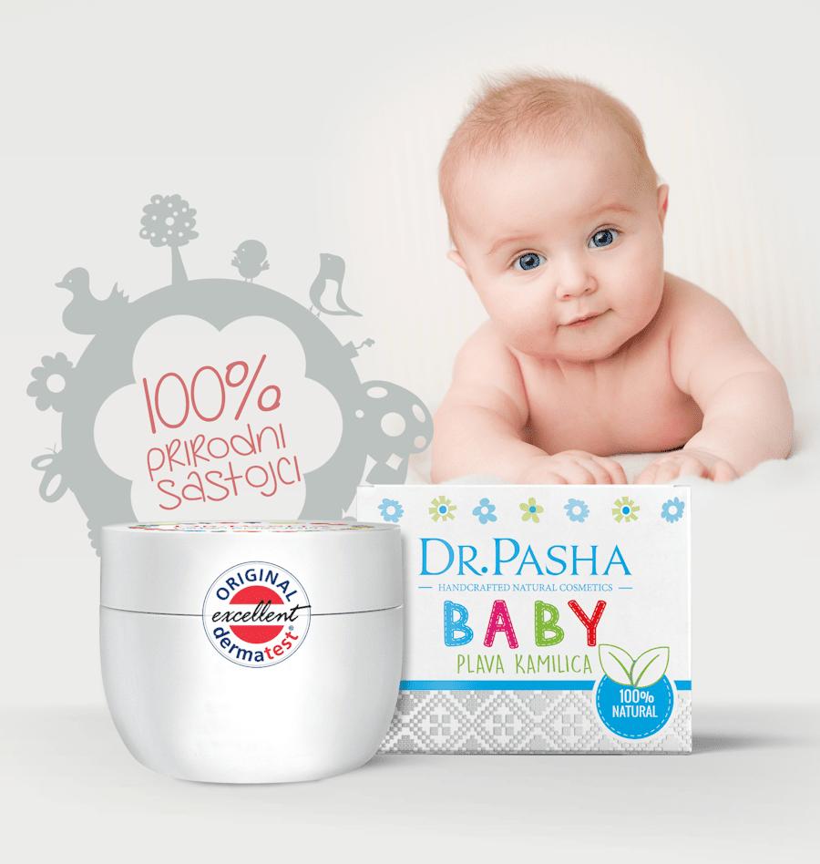 Plava kamilica krema za bebe, Dr Pasha